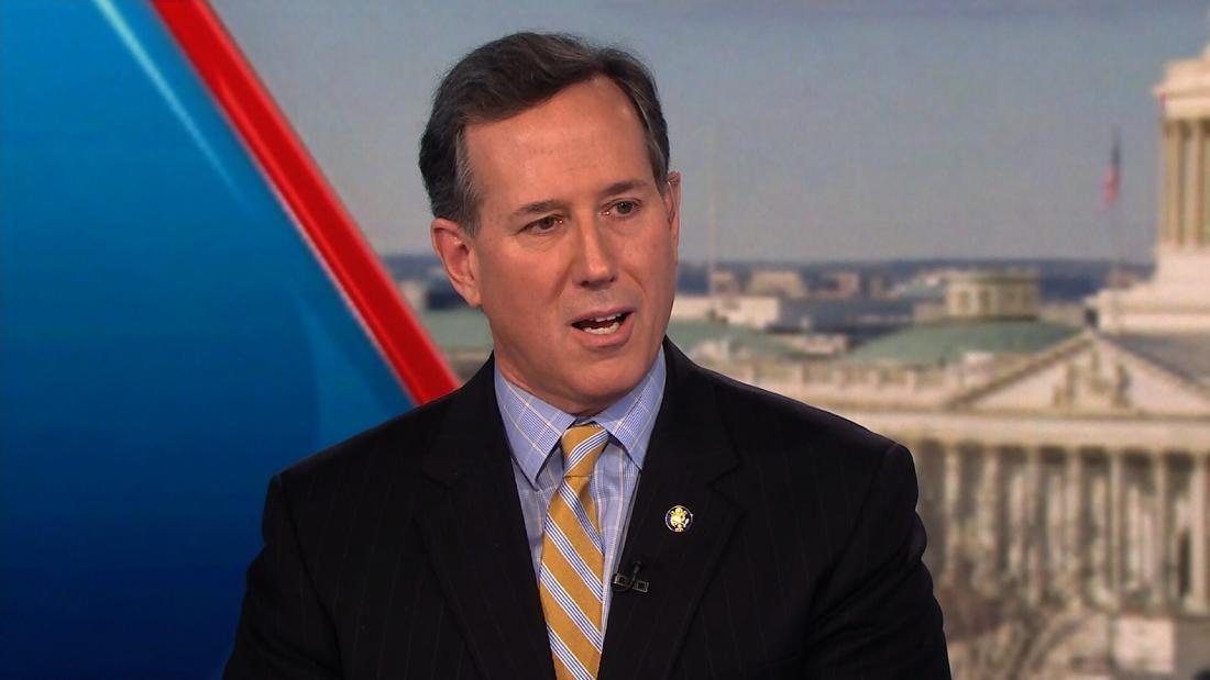 Santorum: Trump won't refuse to leave office if he loses