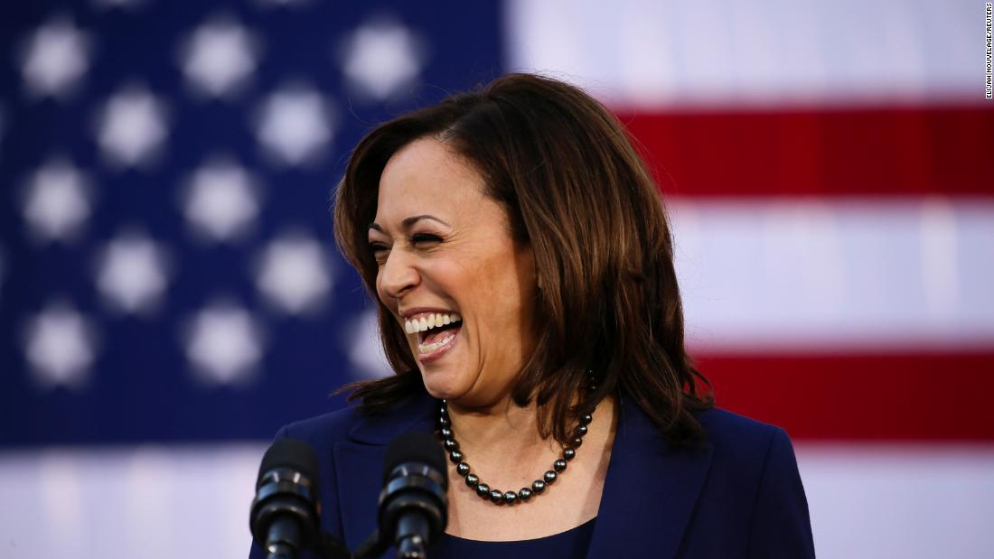 CNN Poll: Harris climbs in the Democratic race, as enthusiasm starts high for both parties