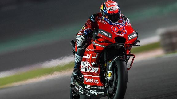 Andrea Dovizioso of Ducati.