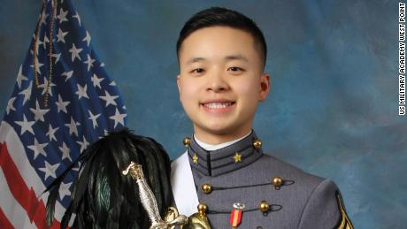 Cadet Peter Zhu, 21, succumbed to injuries from a ski accident at the US Military Academy at West Point on February 23.