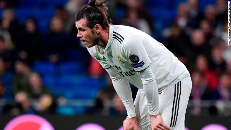 Substitute Gareth Bale failed to make an impact and suffered yet another injury.