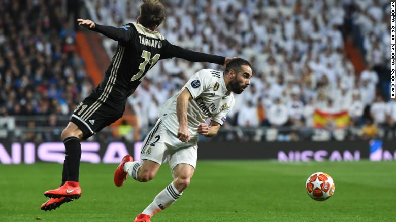 Daniel Carvajal gave an honest assessment of his side's performance.