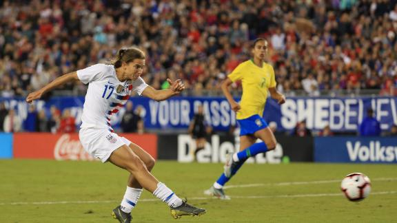 US forward Tobin Heath.