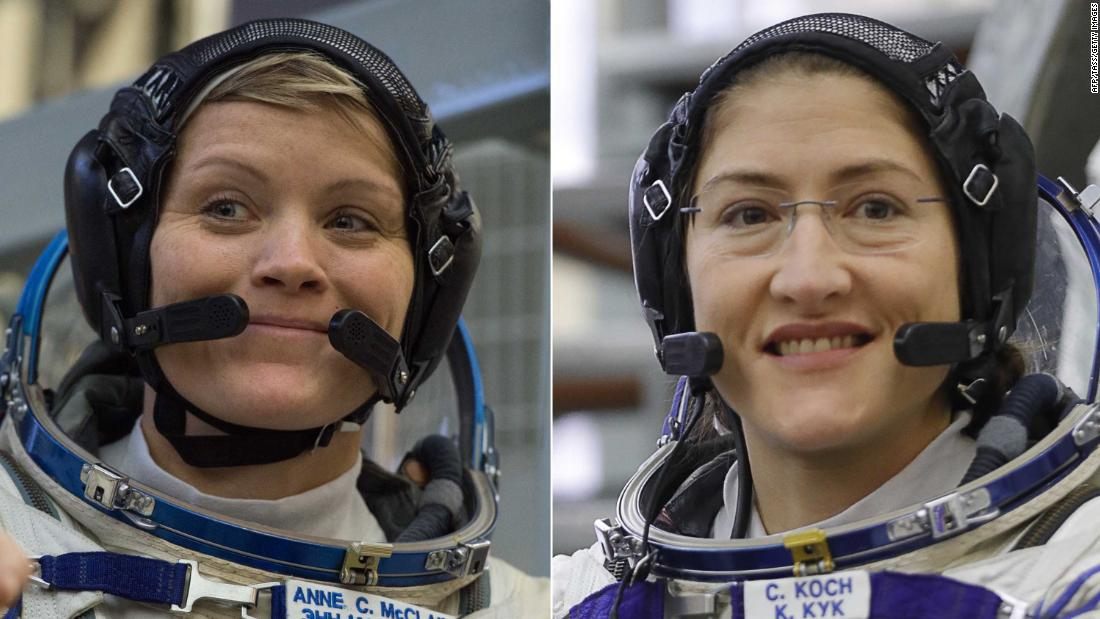 NASA's first all-female spacewalk delayed because there aren't enough spacesuits