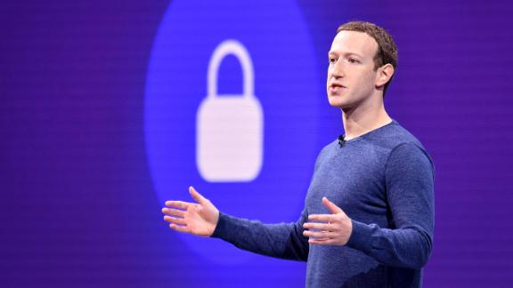 Facebook CEO Mark Zuckerberg speaks during the annual F8 summit at the San Jose McEnery Convention Center in San Jose, California on May 1, 2018.