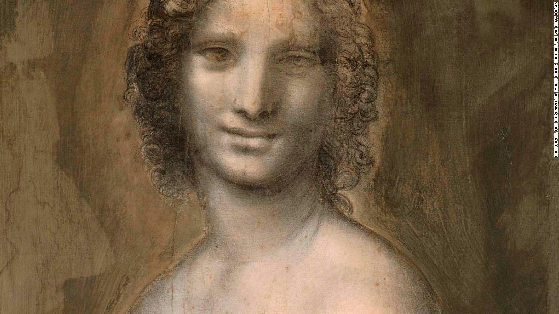 Nude Mona Lisa May Have Been Drawn By Leonardo Da Vinci -2238