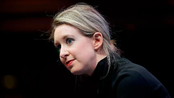 Elizabeth Holmes, founder and CEO of Theranos, speaks at the Fortune Global Forum in San Francisco, Monday, Nov. 2, 2015. (AP Photo/Jeff Chiu)