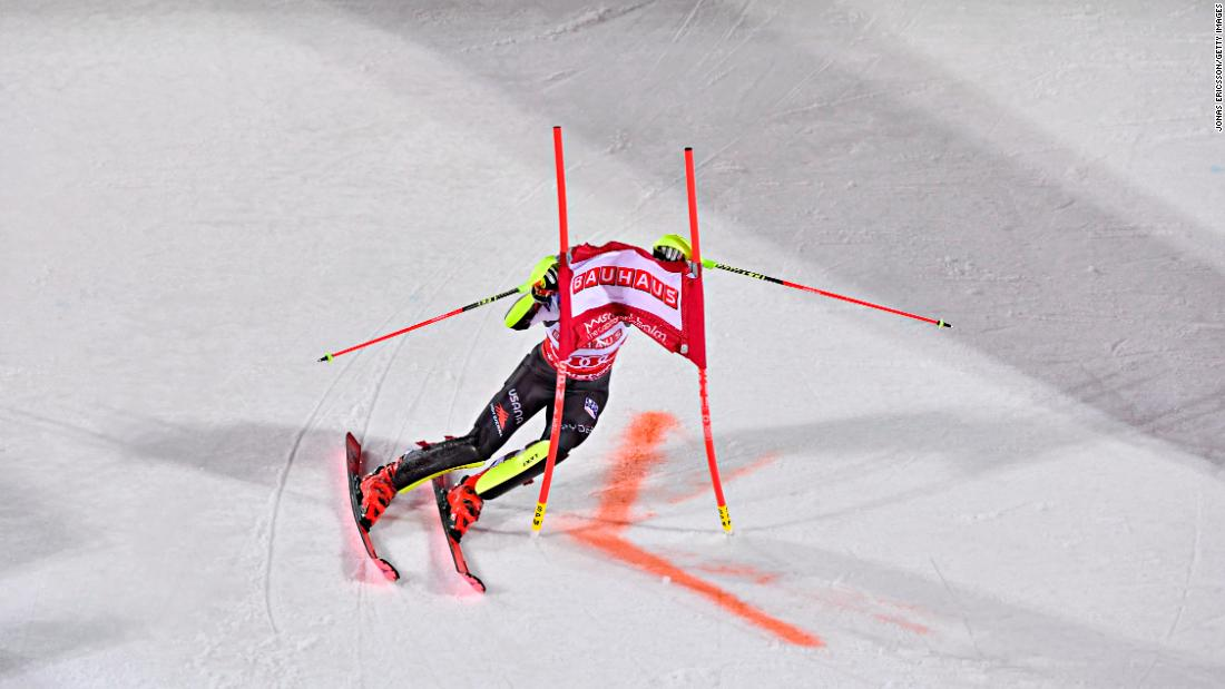Following the World Championships, Shiffrin won a World Cup slalom event in Stockholm to score a record-equaling 14th title of the season. She also wrapped up a third straight season slalom crown and sixth in seven years.  She clinched a third straight overall crown when racing was canceled in Sochi.