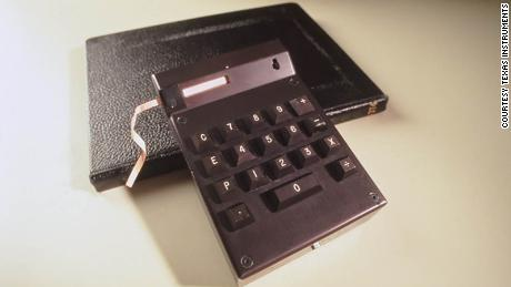 The hand-held calculator that Jerry Merryman and his fellow engineers invented is now part of the collection at the Smithsonian in Washington.