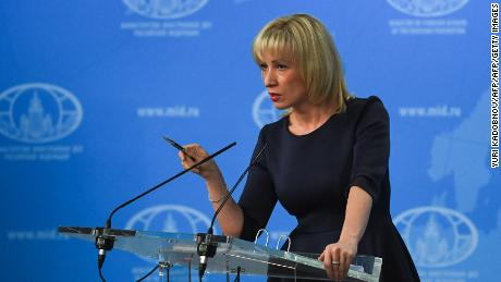 Russian Foreign Ministry spokeswoman Maria Zakharova confirmed the detention of Americans.