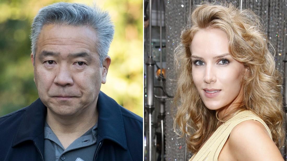 Kevin Tsujihara and Charlotte Kirk