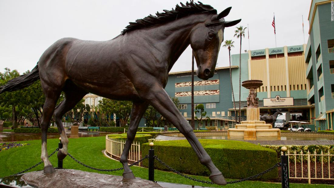 'I don't hop on a dog and ride it' -- Horse racing industry under fire after deaths at California track