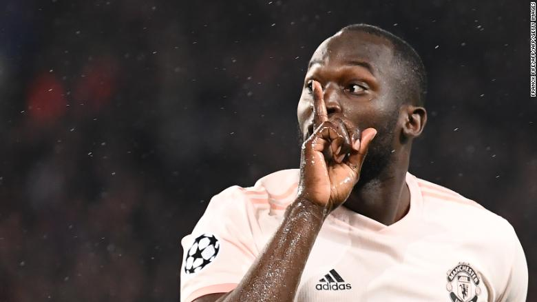 Manchester United's Belgian forward Romelu Lukaku could be set to leave the club.