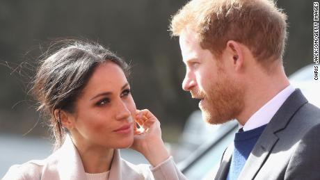 Meghan and Harry, who married last year, are due to welcome their first child in the Spring.