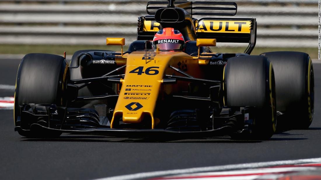 The first signs of an F1 return came at Renault for whom he tested but the team opted against signing him.