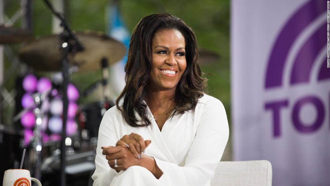 "Michelle Obama : ""The future of our world is only as bright as the future of our girls."""