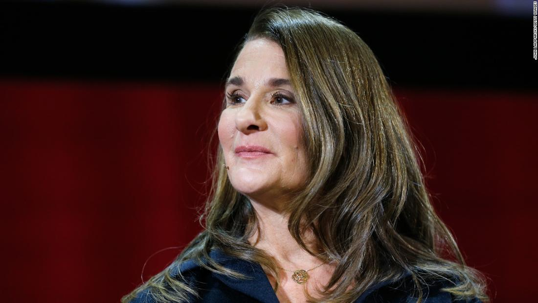 "Melinda Gates : ""Use your voice and you can affect change."""