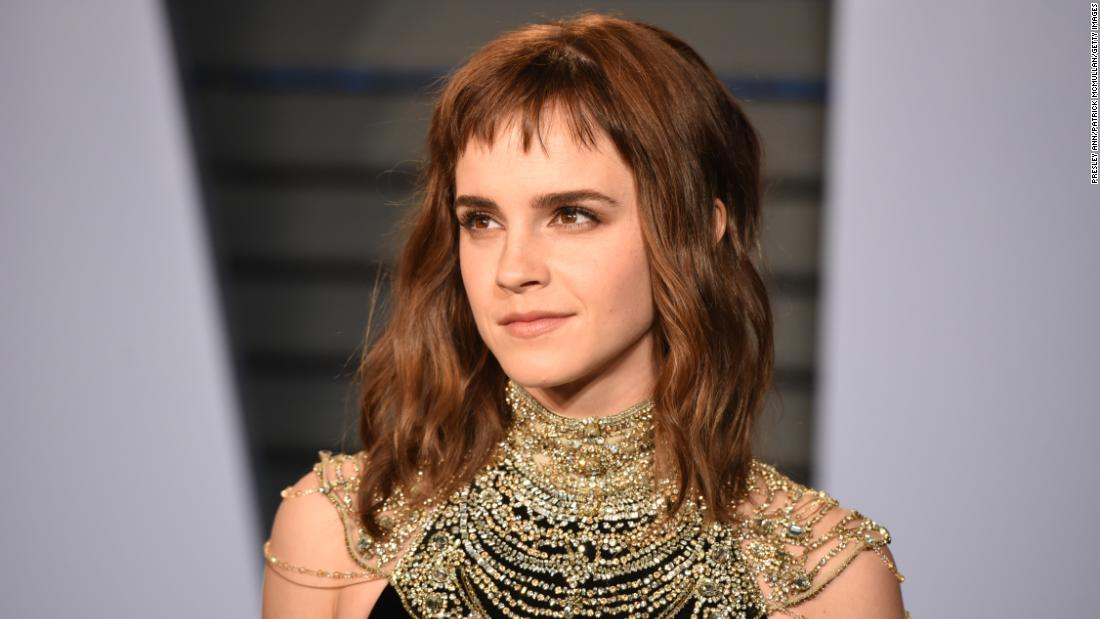 "Emma Watson : ""Feminism is about giving women choice. Feminism is not a stick with which to beat other women with. It's about freedom. It's about liberation. It's about equality. It's not -- I really don't know what my t**s have to do with it."""