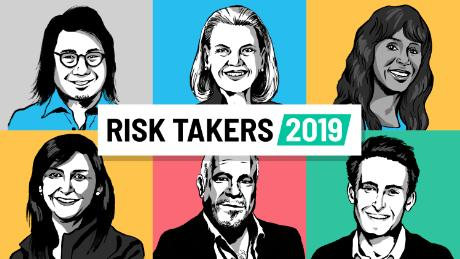 Risk is a requirement in today's business world. These leaders know that