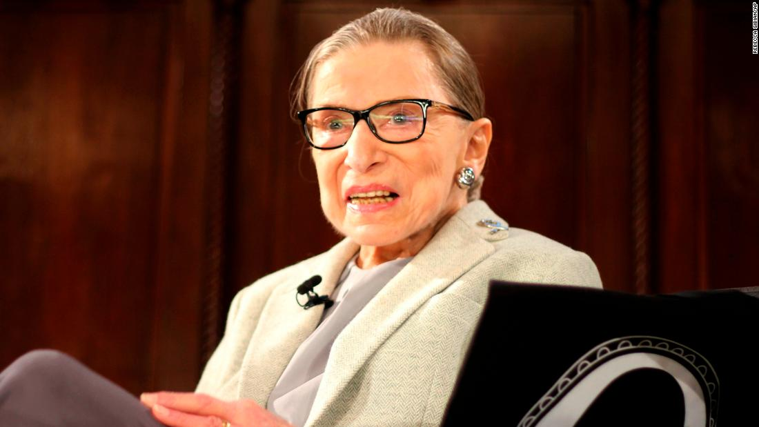 "Ruth Bader Ginsburg : ""Let's see where it goes. So far it's been great. ... When I see women appearing everyplace in numbers, I'm less worried than I might have been 20 years ago."""