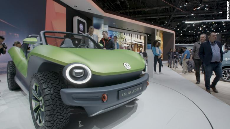 See Volkswagen's new electric beach buggy