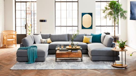 West Elm struck a partnership with Rent the Runway to offer a selection of pillows, blankets and covers to rent.