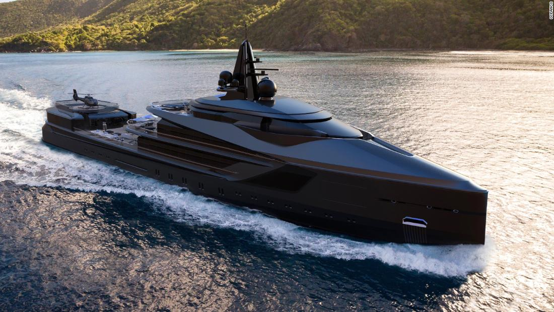 More than 400 seacraft came together for the Dubai International Boat Show 2019, from superyachts to fishing vessels. But few were as radical as the Esquel concept by Oceanco, which unveiled plans for the 345-foot recreational explorer superyacht at the event.