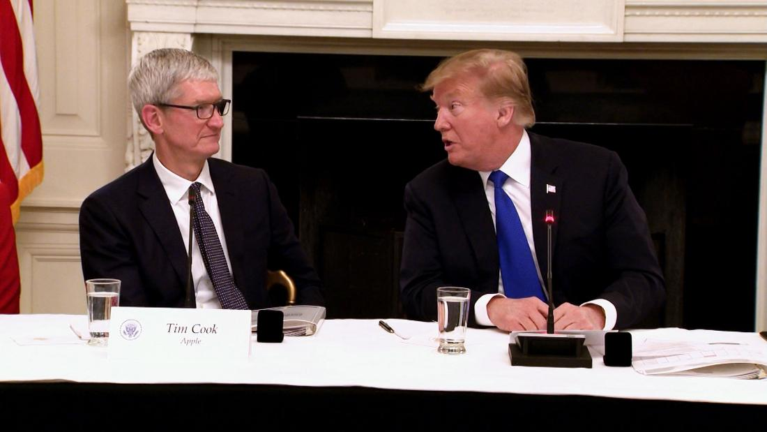How Apple's Tim Cook built a relationship with Trump