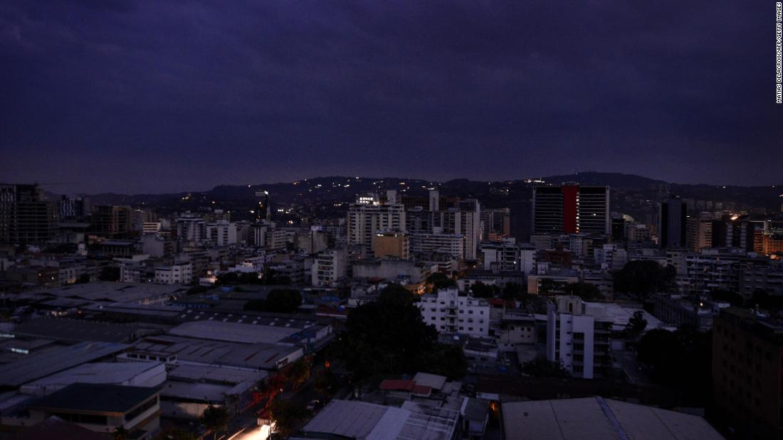 Venezuela Power Outage Leaves Most Of Country In Dark CNN
