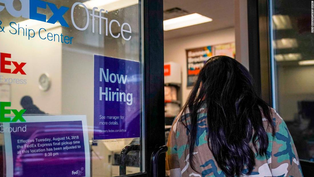 US added only 20,000 jobs last month — fewest since September 2017