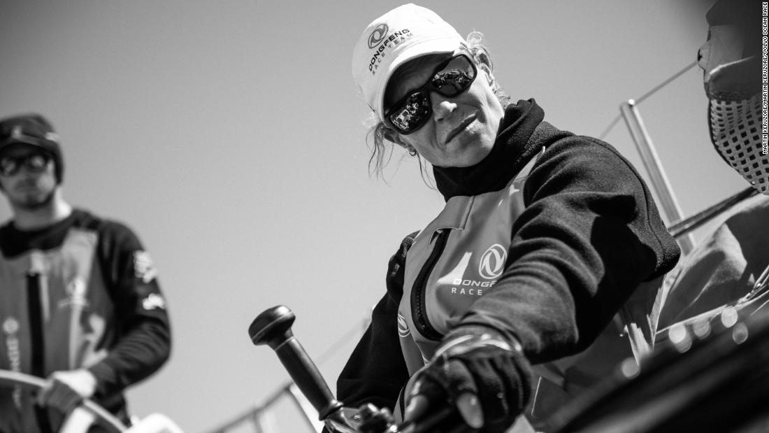 The Dutchwoman set to make America's Cup sailing history