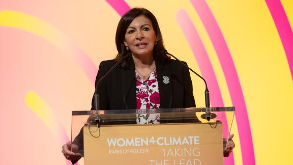 Paris Mayor Anne Hidalgo launched the Women4Climate initiative to nurture the next generation of women climate leaders in cities around the world.