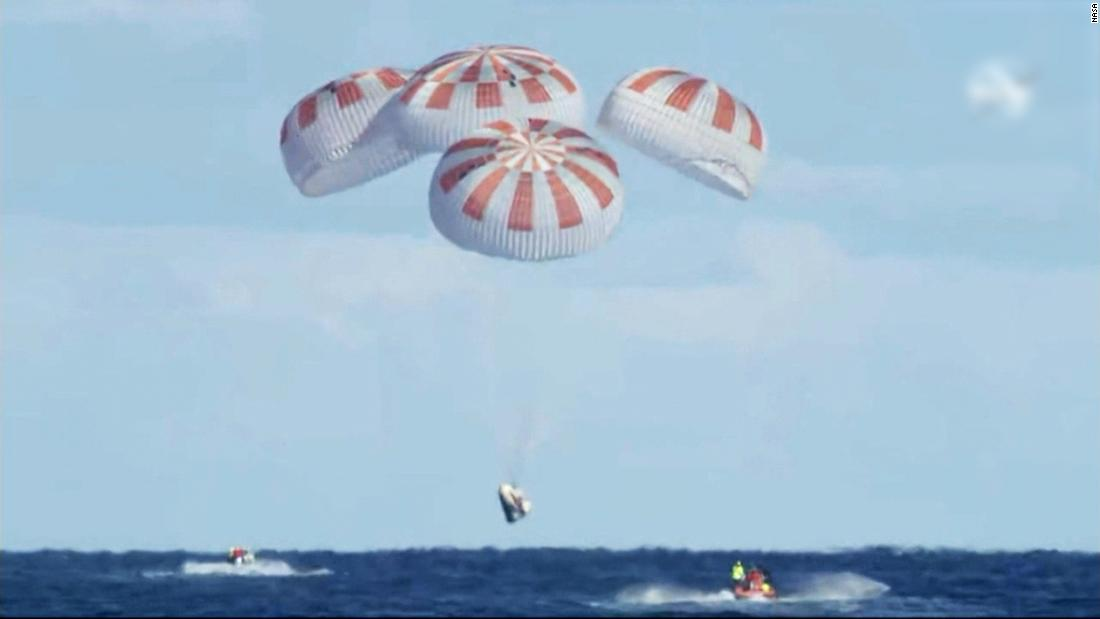 Test fire of SpaceX's Crew Dragon spacecraft ran into problems, sending up thick clouds of smoke