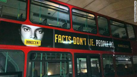 Michael Jackson's fans fight back -- on London buses