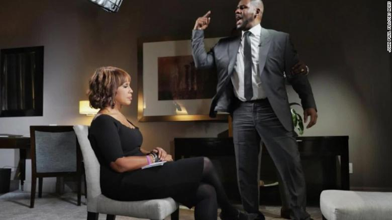 Image result for Here's what Gayle King was thinking during the R. Kelly interview