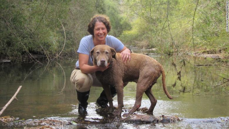Biologist Karen DeMatteo and Train are working to identify the most crucial natural areas for animal conservation.