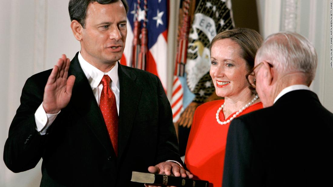 In photos: Chief Justice John Roberts