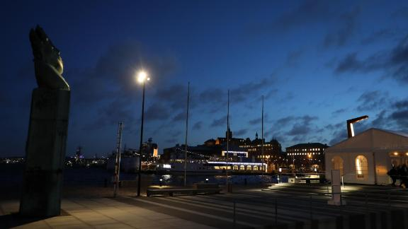A picture on November 17, 2017 shows a view of the Swedish port city of Gothenburg. / AFP PHOTO / ludovic MARIN        (Photo credit should read LUDOVIC MARIN/AFP/Getty Images)