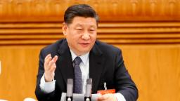 Xi's new look is a power move