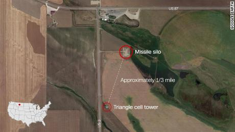 Triangle Communication Systems network is in part equipped by Huawei, according to engineering documents submitted to FCC. Their towers are partially scattered among missile fields