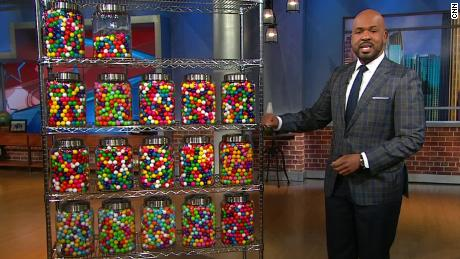 trump false claims gumballs