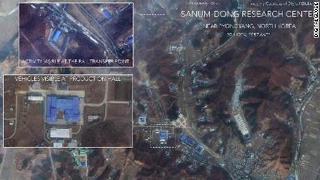 Satellite images reveal activity at North Korean rocket facility