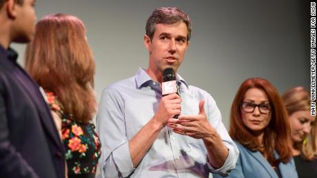 'I'm just born to be in it,' Beto O'Rourke tells Vanity Fair