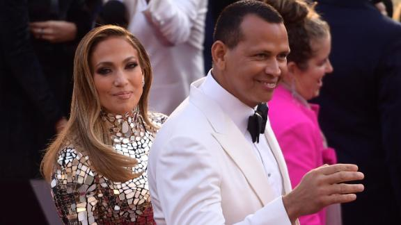 HOLLYWOOD, CALIFORNIA - FEBRUARY 24: (L-R) Jennifer Lopez and Alex Rodriguez attend the 91st Annual Academy Awards at Hollywood and Highland on February 24, 2019 in Hollywood, California. (Photo by Matt Winkelmeyer/Getty Images)