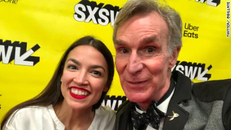 'Science Guy' crashes AOC's panel at SXSW