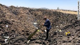 Live updates: Ethiopian Airlines plane crash