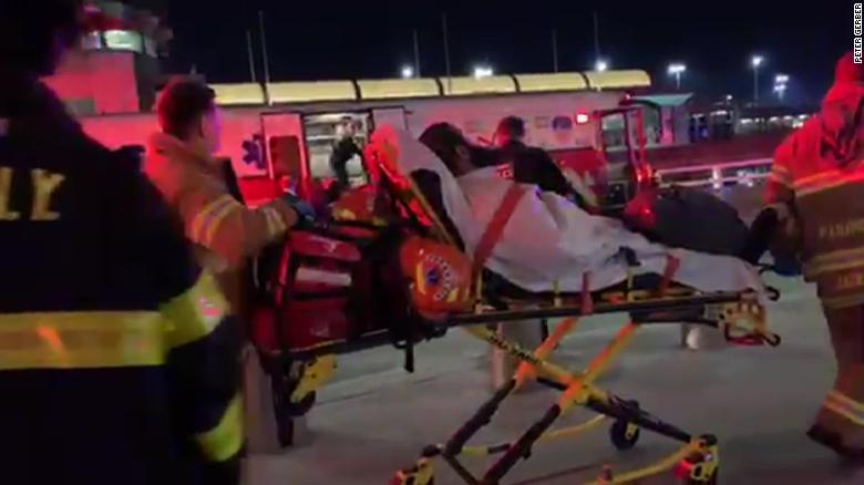 About 30 people were injured after their flight experienced turbulence.