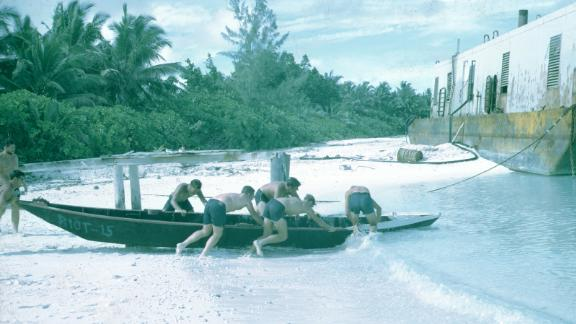 Tom Grenier was stationed at Diego Garcia in 1974 with USN Seabees. These are his images of Diego Garcia.