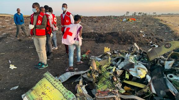 ADDIS ABABA, March 10, 2019 -- Rescuers w