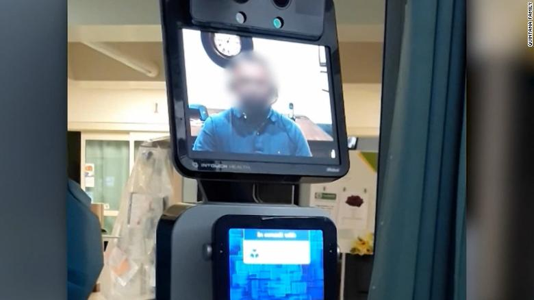 Family upset after doctor delivers tragic news via video